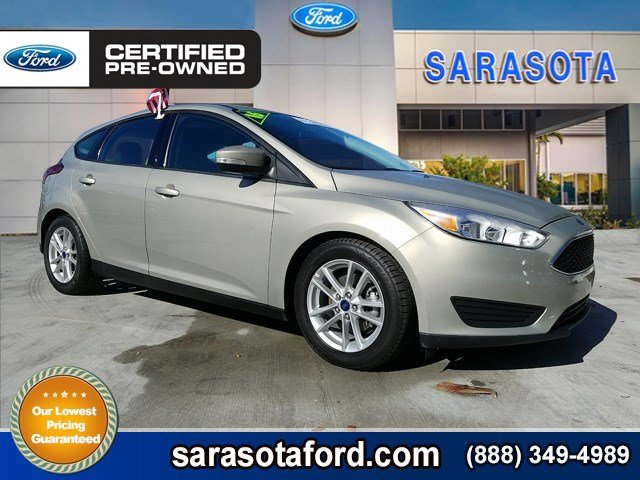 Certified Pre-Owned 2016 Ford Focus SE*HATCHBACK*MOONROOF*AUTOMATIC TRANSMISSION*