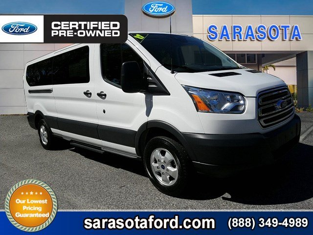 Certified Pre Owned 2017 Ford Transit Wagon Xlt 15 Penger Privacy