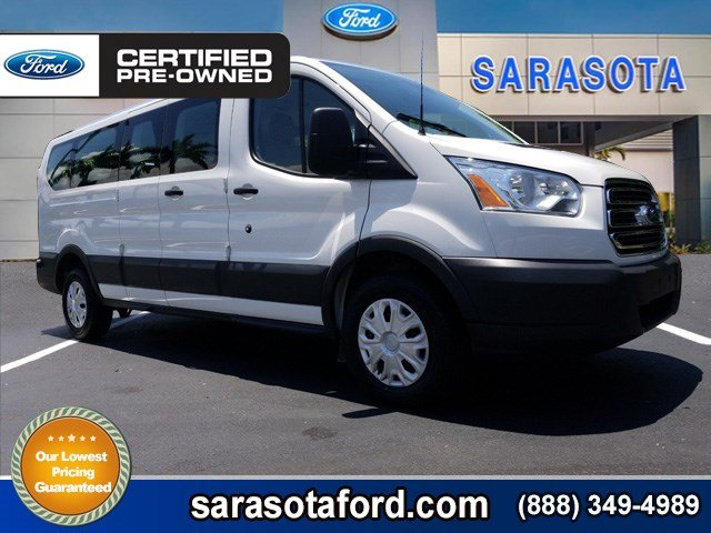 Certified Pre Owned 2016 Ford Transit Wagon XLT 15 PASSENGER REAR