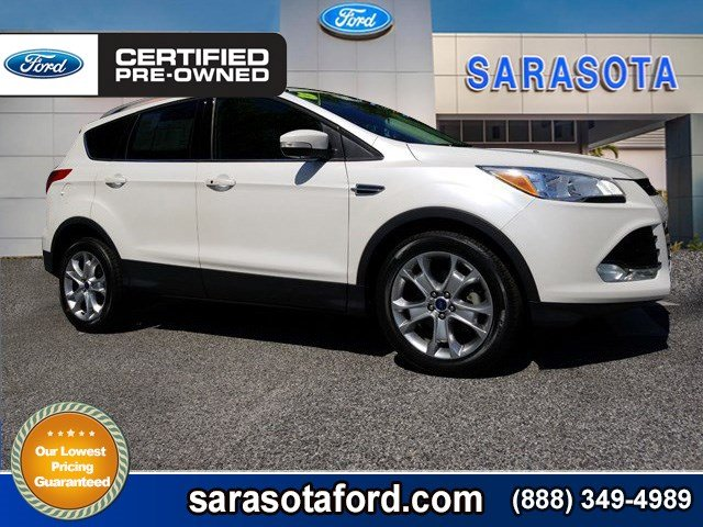 metallic white sc ecoboost sel door coat automatic anderson suv platinum sale fwd for ford in tri escape