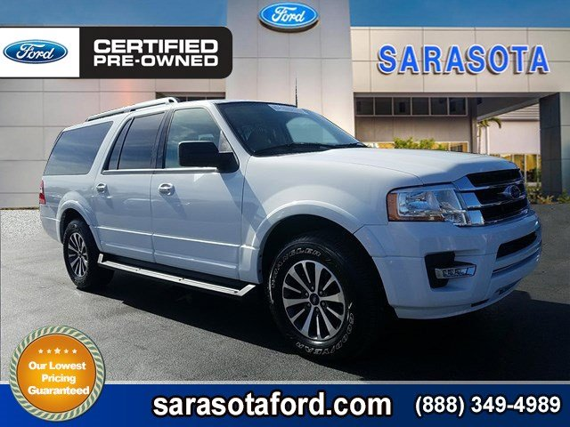 Certified Pre-Owned 2017 Ford Expedition EL XLT*EXTENDED LENGTH*MOONROOF*3.5L ECOBOOST*