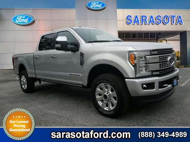 New 2018 Ford Super Duty F-250 SRW Platinum