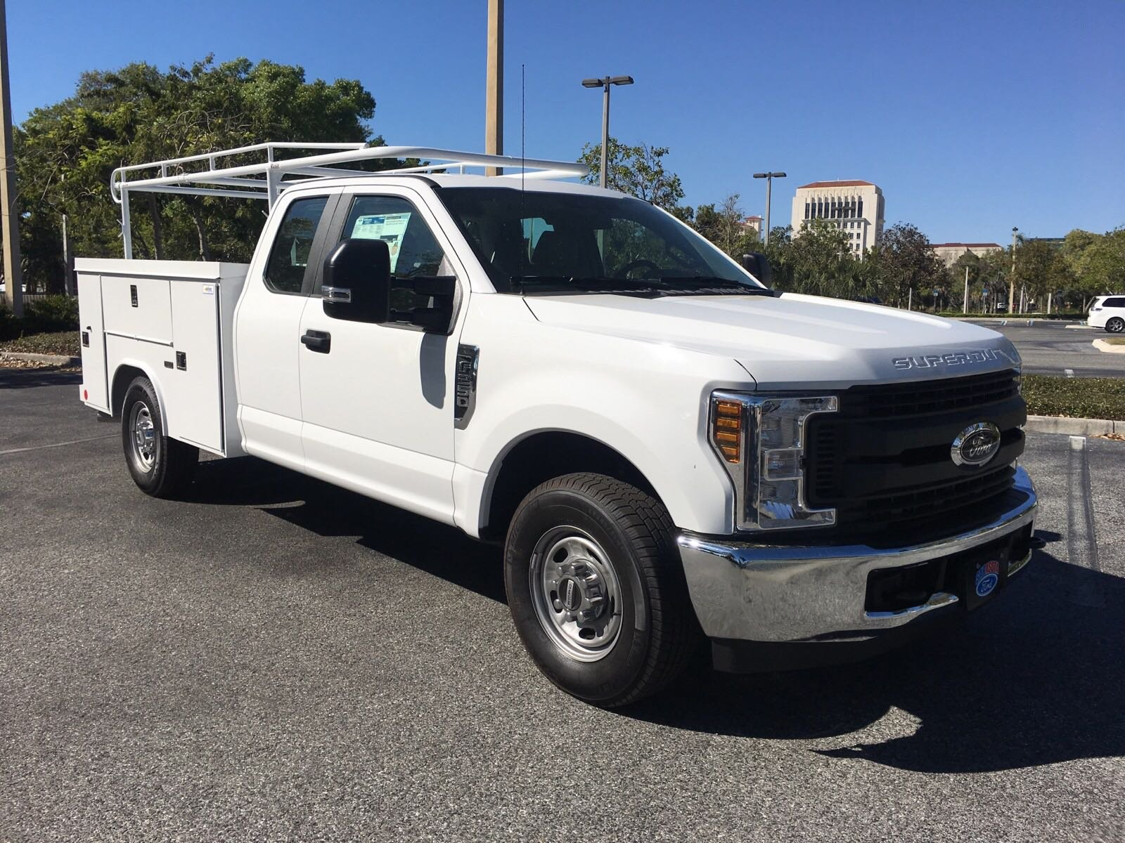 New 2018 Ford Super Duty F 250 SRW XL8FT READING SERVICE BODY