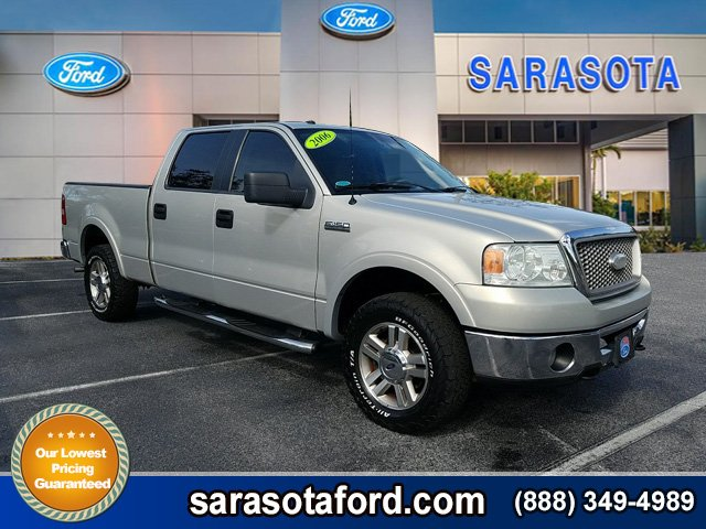 Pre-Owned 2006 Ford F-150 *LARIAT*4X4*CREW CAB*LOCAL VEHICLE*FRESH TRADE IN*