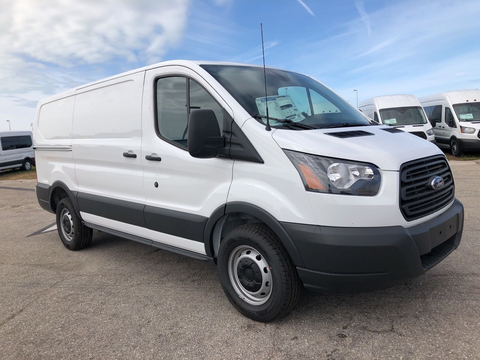 New 2018 Ford Transit Cargo Van