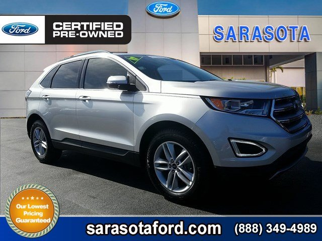 Certified Pre-Owned 2017 Ford Edge SEL*TRAILER TOW PACKAGE*ONLY 3K MILES*