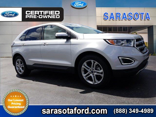 Certified Pre Owned  Ford Edge Titaniumleathersync  Inch