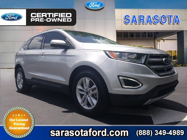 Certified Pre Owned  Ford Edge Selall Wheel Drivetow Package