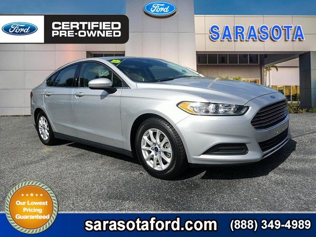 Certified Pre-Owned 2015 Ford Fusion S*REAR VIEW CAMERA*4 BRAND NEW TIRES*FORD CERTIFIED*