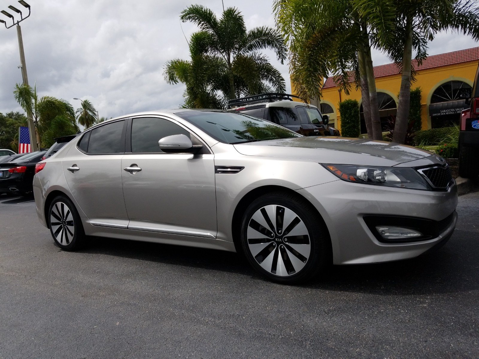 Pre Owned 2013 Kia Optima SX*LEATHER*TURBOCHARGED*LOW MILES*WARRANTY