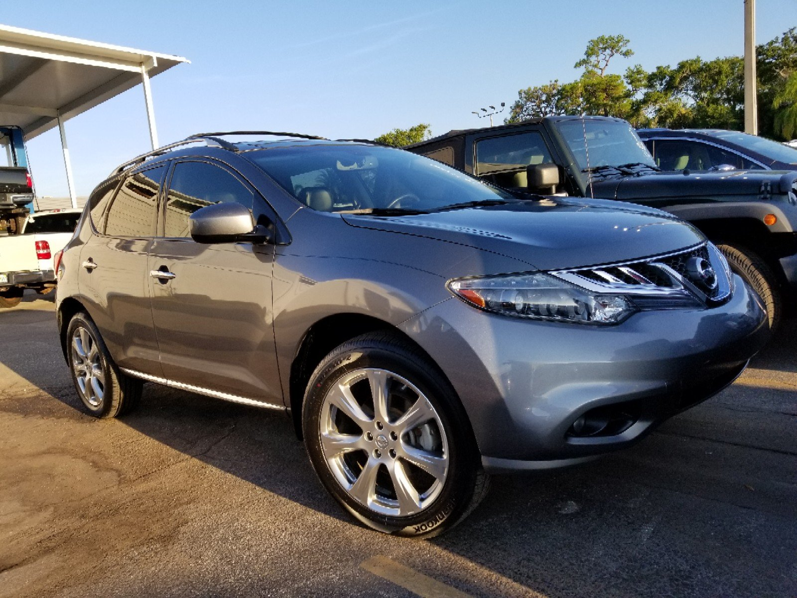 Pre Owned 2014 Nissan Murano LE*PLATINUM*DUAL MOONROOF*NAVIGATION*LOCAL  VEHICLE*FRESH TRADE IN*