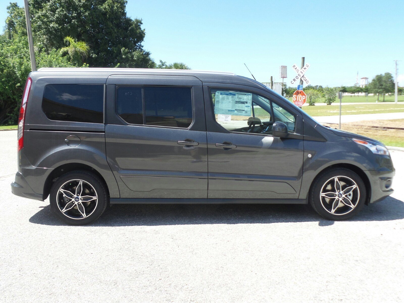 New 2017 ford transit connect wagon titanium full size passenger