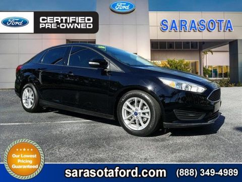 Certified Pre-Owned 2016 Ford Focus SE FWD 4dr Car