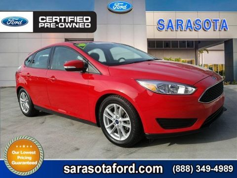 Certified Pre-Owned 2016 Ford Focus SE*HATCHBACK*REAR VIEW CAMERA*SIRIUS XM* FWD Hatchback
