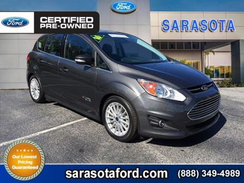 Certified Pre-Owned 2016 Ford C-Max Energi SEL**LEATHER**ONLY 11K MILES** FWD Hatchback