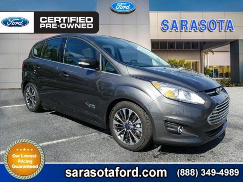 Certified Pre-Owned 2017 Ford C-Max Energi *TITANIUM*PANORAMIC ROOF*NAVIGATION*ONLY 5K MILES* FWD Hatchback