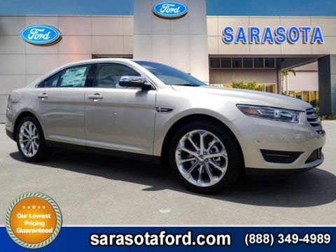 New 2018 Ford Taurus Limited FWD 4dr Car With Navigation