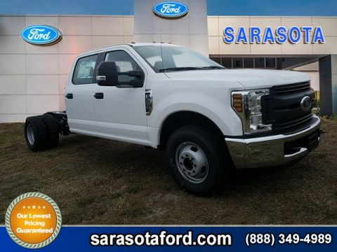 New 2018 Ford Super Duty F-350 DRW XL RWD Crew Cab Chassis-Cab