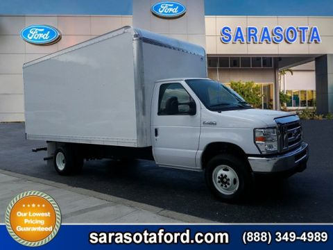 2017 Ford E-Series Cutaway 16FT BOX VAN BODY