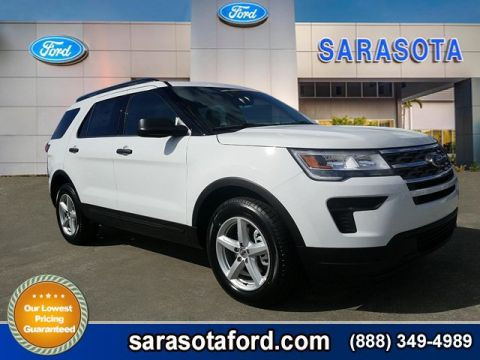 New 2018 Ford Explorer Base FWD Sport Utility