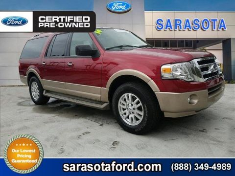 Certified Pre-Owned 2014 Ford Expedition EL XLT*LEATHER*POWERFOLD 3RD SEAT*FRESH TRADE IN* RWD Sport Utility