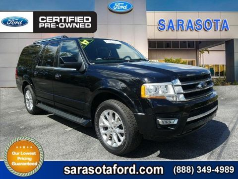 Certified Pre-Owned 2017 Ford Expedition EL LIMITED EL*A/C & HEATED LEATHER*TOUCH SCREEN*POWER 3RD SEAT* RWD Sport Utility