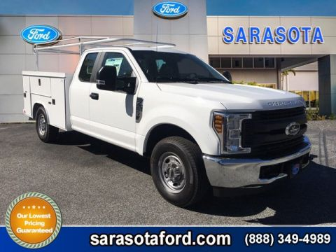 New 2018 Ford Super Duty F-250 SRW XL8FT READING SERVICE BODY RWD Extended Cab Pickup