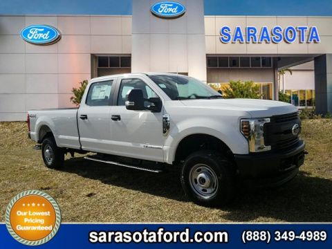 New 2018 Ford Super Duty F-350 SRW XL 4WD