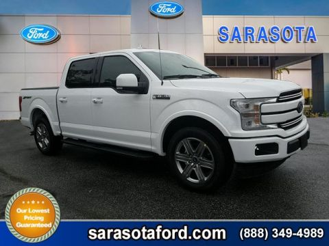 New 2018 Ford F-150 Lariat RWD Crew Cab Pickup