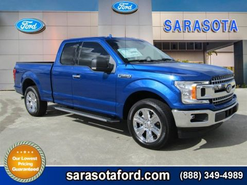 New 2018 Ford F-150 XLT RWD Extended Cab Pickup