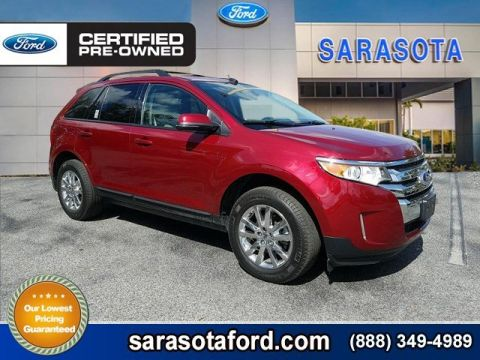 Certified Pre-Owned 2013 Ford Edge SEL*LEATHER*BLIND SPOT DETECTION*PREMIUM WHEELS*ONLY 16K MILES* FWD Sport Utility