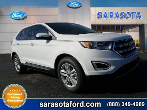 New 2018 Ford Edge SEL FWD Sport Utility