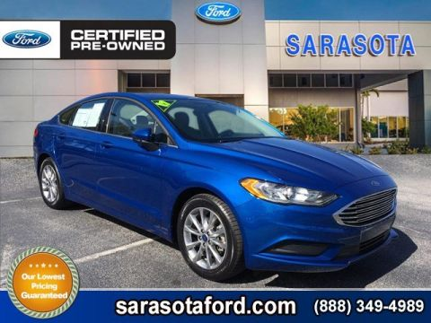 Certified Pre-Owned 2017 Ford Fusion SE*NEW BODY STYLE*TOUCH SCREEN*ECOBOOST*EXTRA LOW MILES* FWD 4dr Car