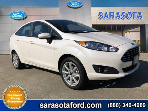 New 2018 Ford Fiesta SE FWD 4dr Car With Navigation